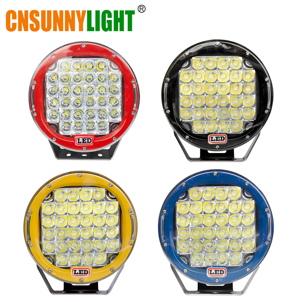 цена на CNSUNNYLIGHT 2pcs 9 Inch 96W LED Driving Work Light Super Bright Led Spotlight for 4X4 ATV UTV SUV 4wd Offroad Spot Lamp 12V 24V