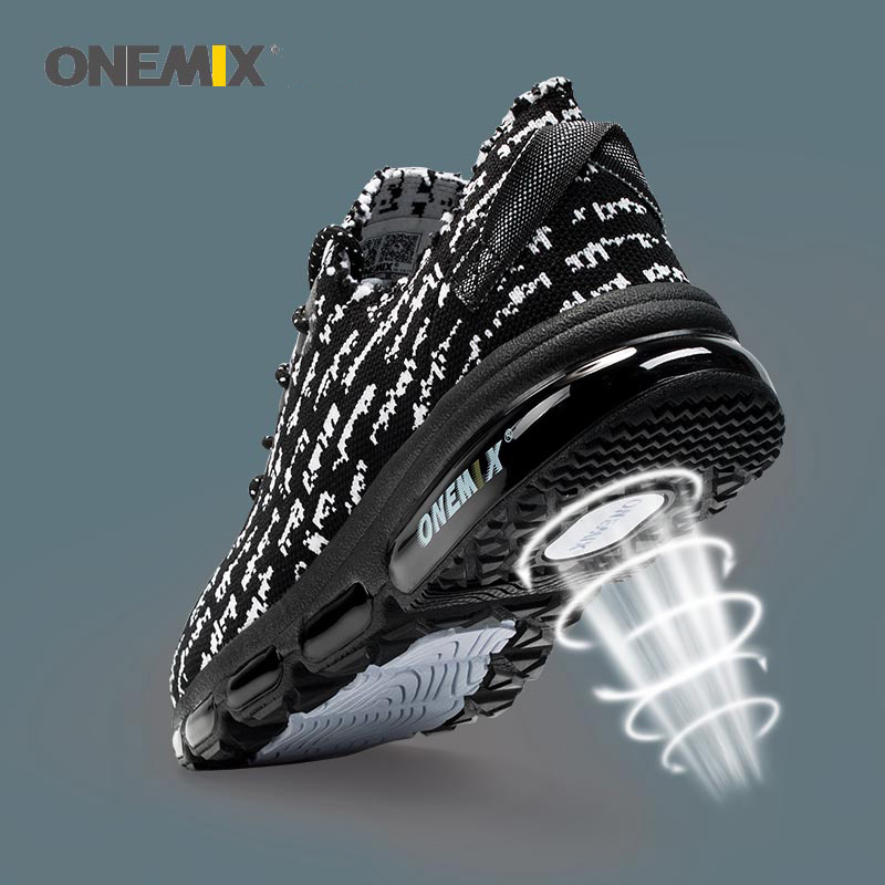 ONEMIX Autumn Women Shoes Breathable Mesh Sneakers Wearable Antislip Sweat Soft Running Shose Sneakers Lover Running Size3.5-9.5 kelme 2016 new children sport running shoes football boots synthetic leather broken nail kids skid wearable shoes breathable 49