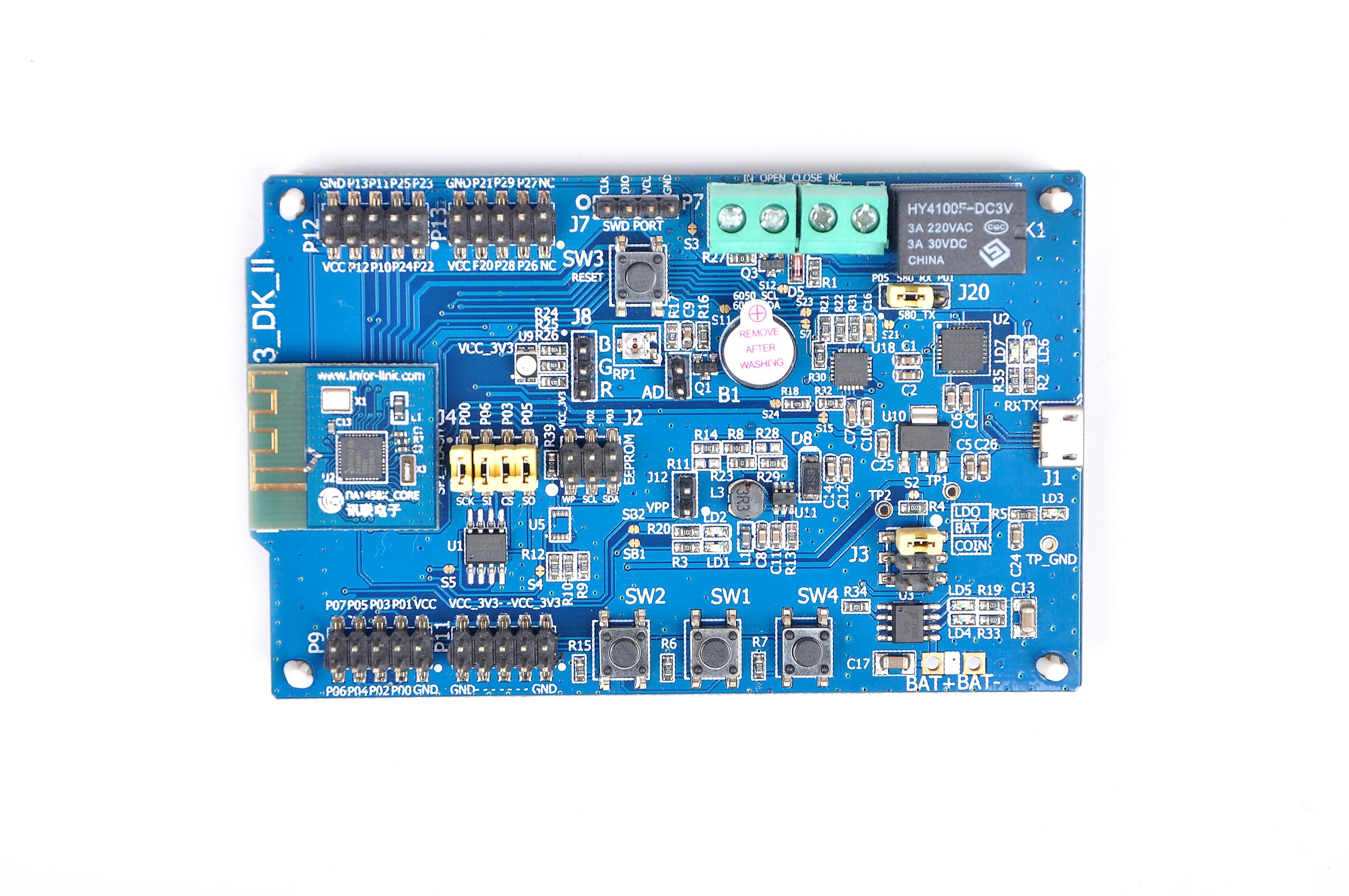 First Episode! Bluetooth 5 Bluetooth 4.0BLE DIALOG DA14580 Optimized Version of DA14585 Development Board hot da14580 ak bluetooth ble development board ibeacon millet bracelet lis3dh power industry