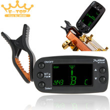 Meideal  Eectric Chromatic Bass Violin Guitar Metronome LCD Clip on Tuner Guitar Accessories