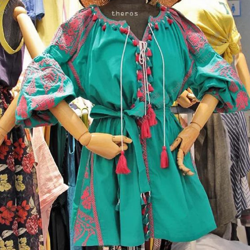 Aliexpress Buy Bohemian Women Summer Ethnic Boho Embroidered