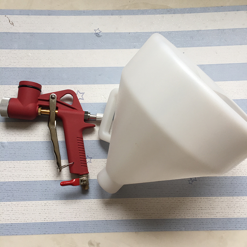 SAT5604 High Quality 6L Pneumatic Hopper Spray Gun Air Paint Gun Spraying Equipment Air Hopper Spray Gun Wall Painting Gun 2 5l pneumatic hopper gun air spray gun wall paint spray gun painting gun tools page 9