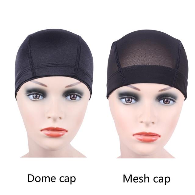 1 pcs Glueless cap peruca para Fazer Perucas de Cabelo net Net Spandex Elástico cap Cúpula cap cúpula Malha