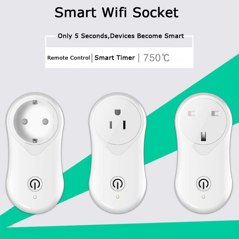 цена на Gorelax Wifi Power Electric Outlet USB Wall Socket Plug,Smart Home Wireless Remote Control Kitchen Plug Sockets Via IOS Android