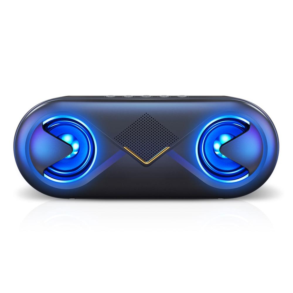 Tragbare 2*3 W Drahtlose Bluetooth Auto Lautsprecher Hochtöner Stereo Audio Auto Sound Lautsprecher Subwoofer Laut Bass Dy381 Bequem Zu Kochen