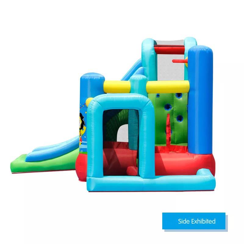 HTB1 6joPFXXXXcGXpXXq6xXFXXXy - Mr. Fun Animal World Cup Inflatable Trampoline Bounce House with Kids Slide Playhouse with Blower