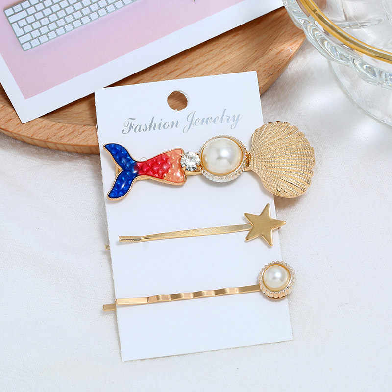 ZOSHI 3pcs/set Simulated Pearl Hair Barrette For Women Fashion Clip HairPins Gift for Girl Hair Accessories Handmade Jewelry