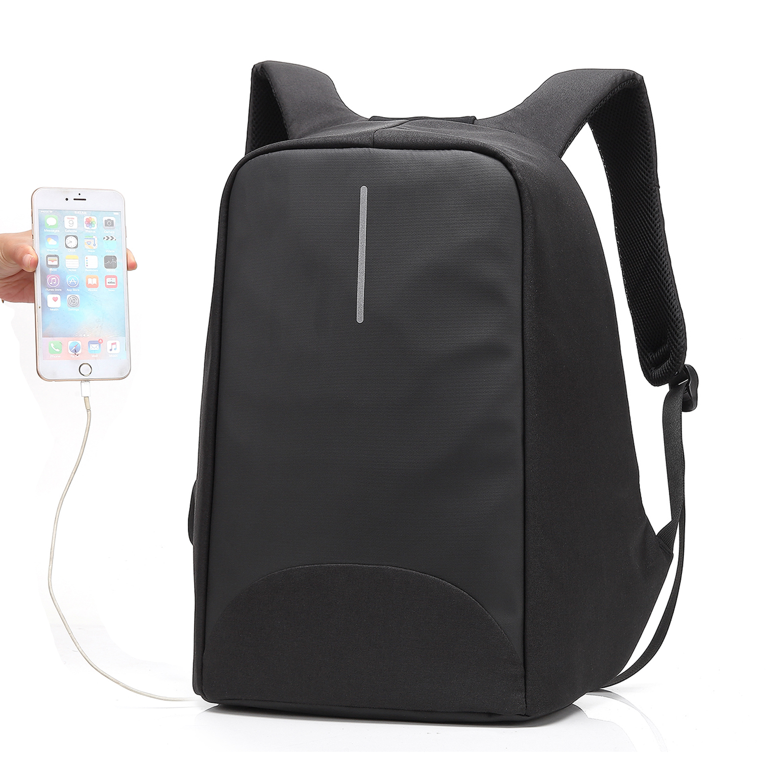 Anti Theft Backpack Male Casual Schoolbag School Backpack For Laptop With Charging Usb Men 15 Inch Travel Backpacks Waterproof kingsons external charging usb function school backpack anti theft boy s girl s dayback women travel bag 15 6 inch 2017 new