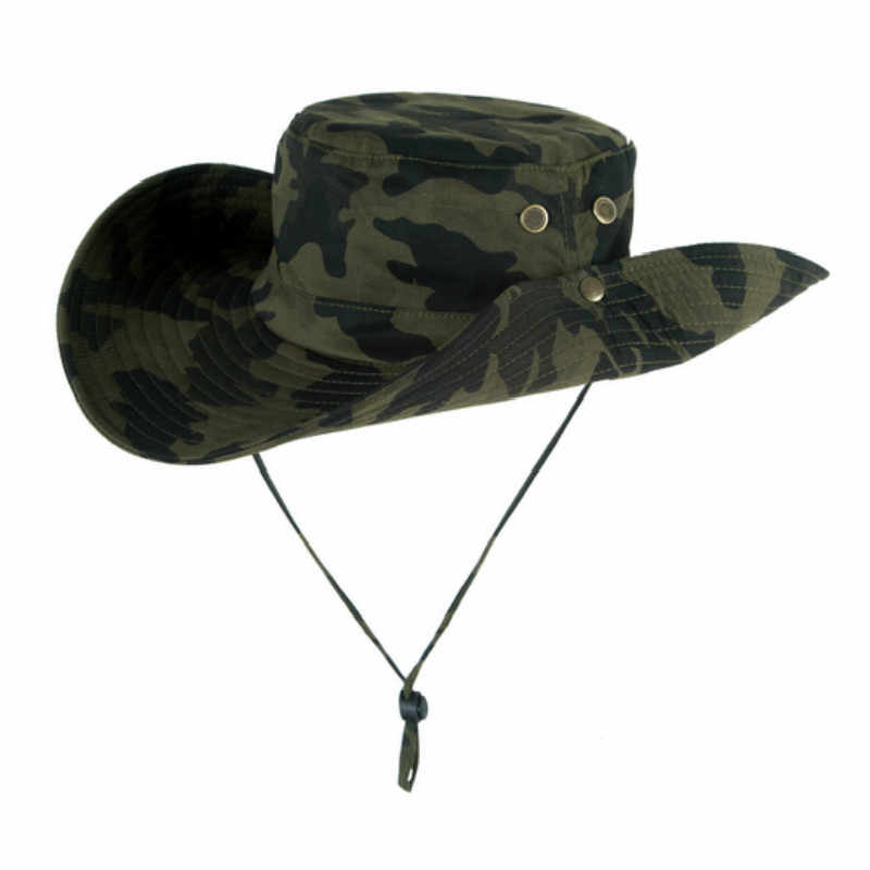 13887e651cd35 ... Which in shower Red Army green Travel Cotton Wide Brim Bucket Hat With  String Women Men ...