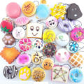 New Arrival 12PCS Random Sent Kawaii Squishies Lots Cupcakes Panda Bun Toasts Multi Donuts