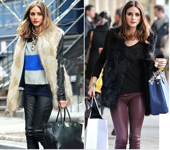 436ea95bed7 2018 6XL Women Faux Fur Vest Coat Winter Sleeveless Fake fur Vest Jacket  Warm Plus Size Office Outwears Women Waistcoat YR199-in Faux Fur from  Women s ...