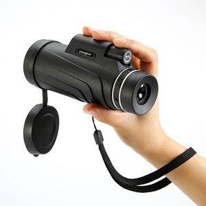 Image 3 - 50x52 Zoom Monoculaire Telescoop Scope voor Smartphone Camera Camping Wandelen Vissen met Kompas Telefoon Clip Statief Gift