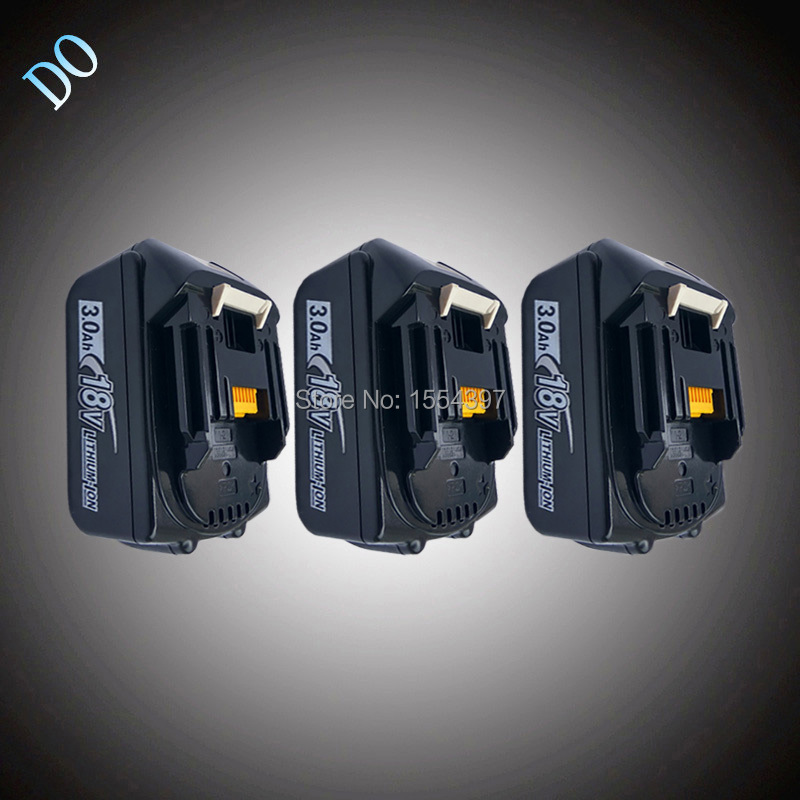 3PCS 3000mAh Lithium Ion Replacement for Makita 18V BL1830 Rechargeable Power Tool Battery Packs BL1815 LXT400 194230-4 194205-3 bl1830 tool accessory electric drill li ion battery 18v 3000mah for makita 194205 3 194309 1 lxt400 18v 3 0ah power tool parts page 8