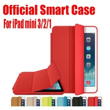 1PC Newest Official Design Best Quality 7.9 inch PU Leather Smart Case For Apple iPad mini 3 2 1 + Screen Film NO: IM01(China)