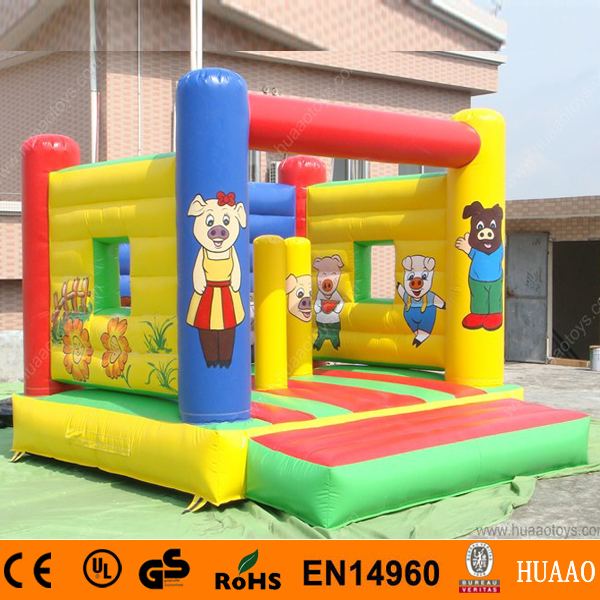 Free Shipping Commercial Pig Inflatable Jumping Bouncer Castle