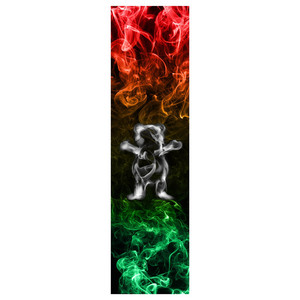 Image 2 - Grizzly cintas de agarre para monopatín profesional, 9x33 pulgadas, carburo de silicio, con orificios de aireación, papel de lija para patinete