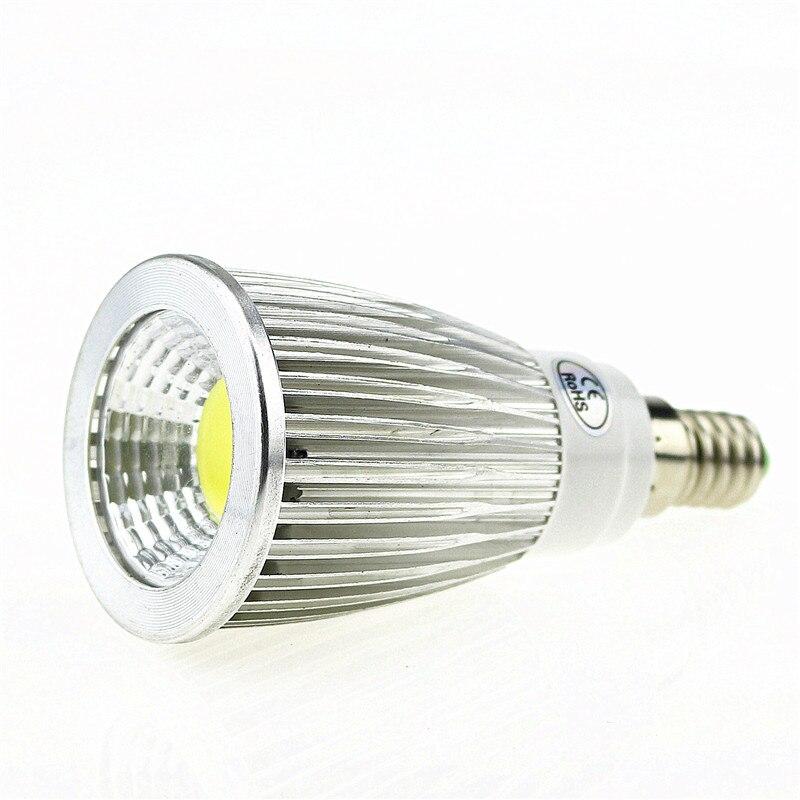 50X E14 W 9 W 12 W 15 W 85 265 V foco LED regulable COB Led focos caliente/ natural/blanco E14 downlight LED de luz de la lámpara - 2