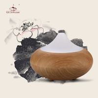 GX Diffuser Ultrasonic Air Humidifier Essential Oil Diffuser Aromatherapy Electric Aroma Diffuser Changing Color Home Mist