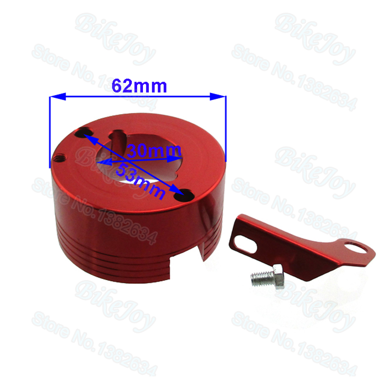 Red Air Filter Adapter For Honda 11Hp 13Hp GX340 GX390 Clone Engine Go Kart
