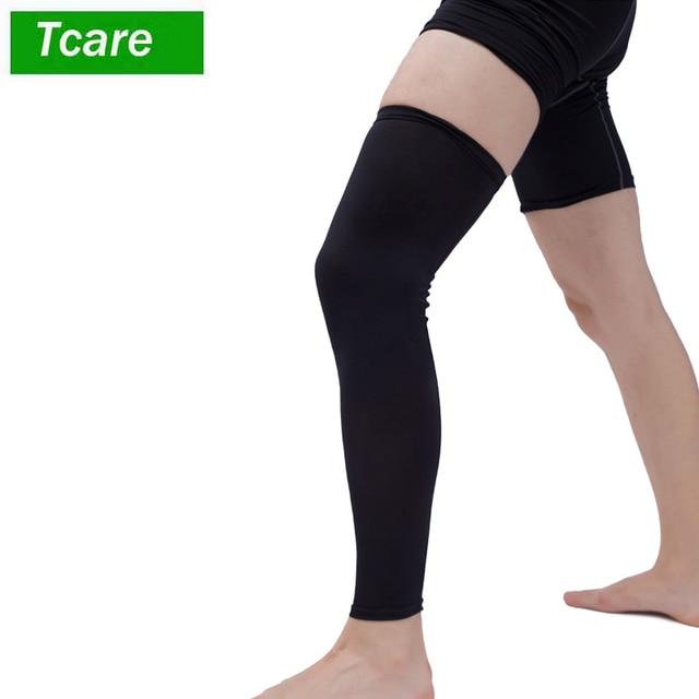 673e8fe118 1Pcs Leg Compression Sleeve Women Men Youth Basketball - Sports Footless Calf  Compression Socks Knee Brace