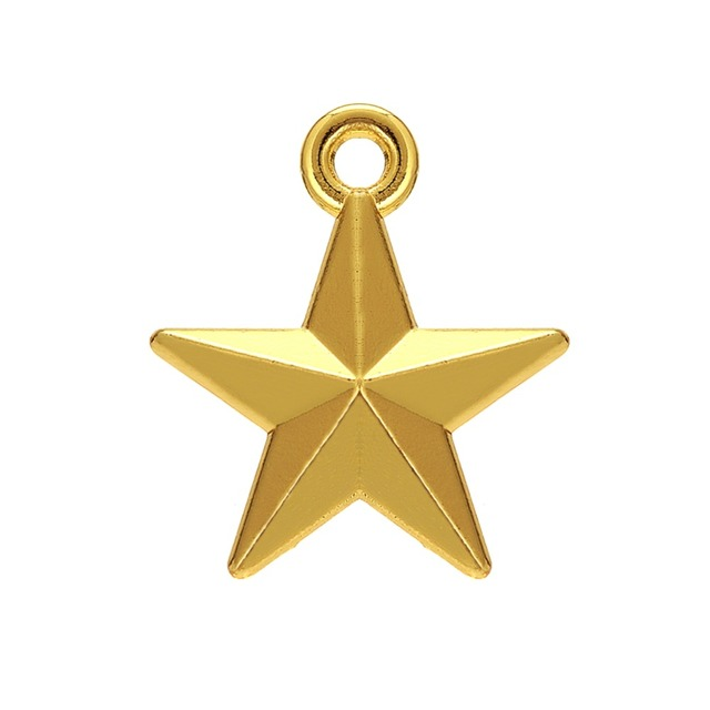 Skyrim Fashion Five pointed Star Charm Jewelry Findings Fit For