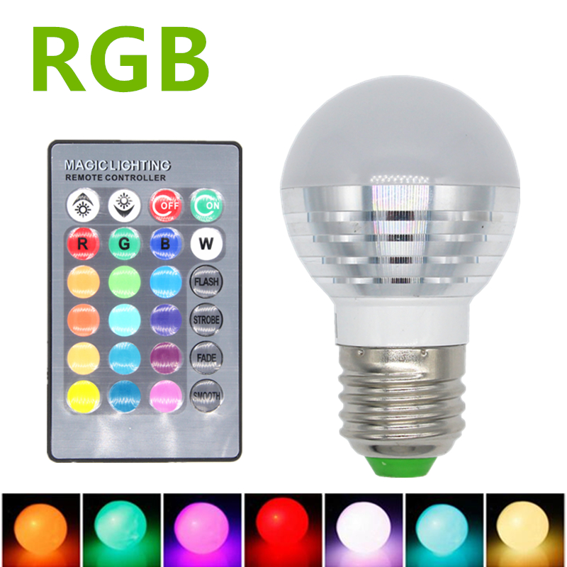 3w rgb led lamp e27 220v spotlight lampada led light e14 85 265v christmas lanterna bombillas. Black Bedroom Furniture Sets. Home Design Ideas