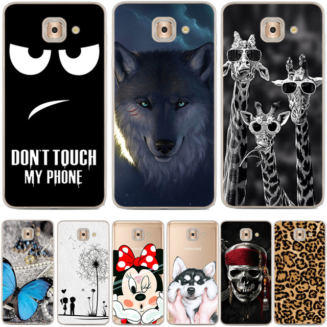 1a714137bb0 For Samsung J7 Max Case G615 G615F Luxury Cartoon TPU Case Cover For  Samsung J7 MAX Silicone Phone Protective Back Cover Skin