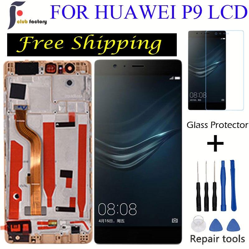 FOR HUAWEI P9 LCD Display EVA-L09 EVA-L19 Replacement  HUAWEI P9 5.2