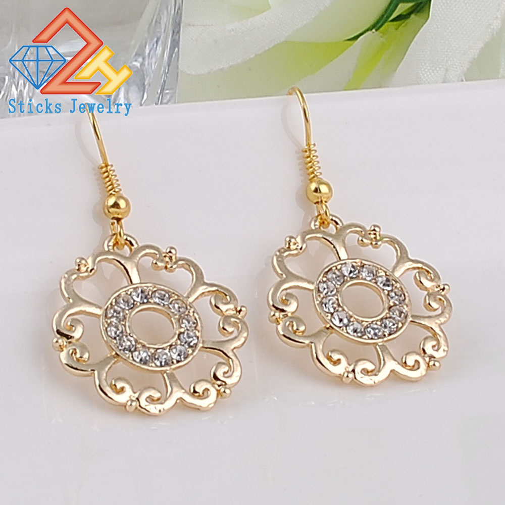 doky pendulum earring large zoky filigree bright earrings