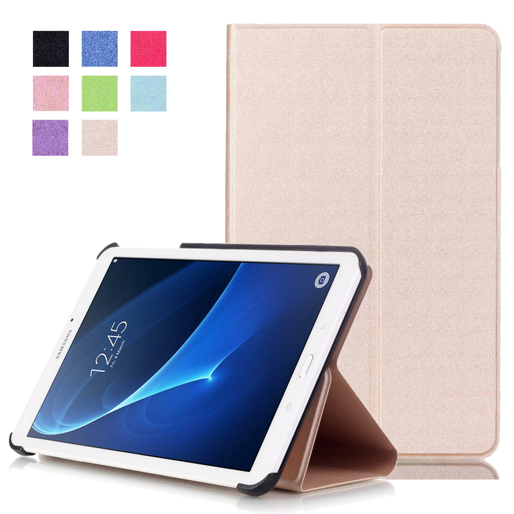 (Slim Fit) Front Surpport Folio Flip PU Leather Case Cover Skin for 2016 New Case for Samsung Galaxy Tab A 7.0 T280 T285  slim fit folio flip pu leather case cover skin back case for amazon all new kindle 6 display 8th gen 2016 release