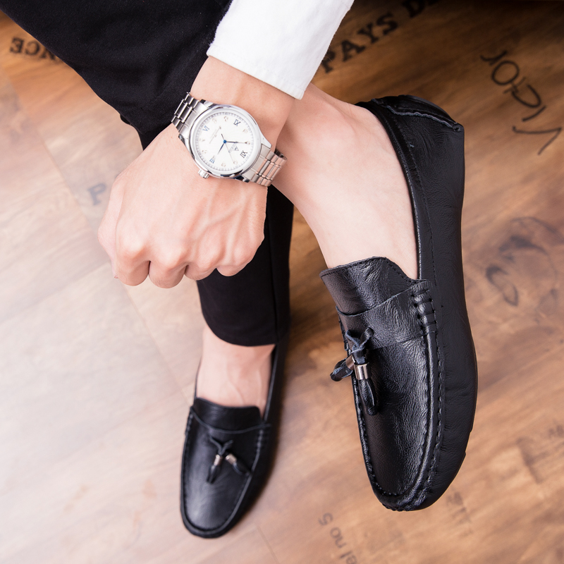Men Loafers Shoes outdoor Italy Oxfords Business Dress Boat Shoes Formal Oxford Men Flat Shoes Wedding party shoes p4 29