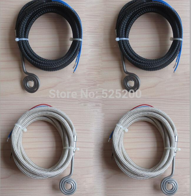 DHL free shipping 26mm outer diameter flat coil heater with K thermocouple health literacy competencies for health professionals
