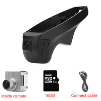 Car DVR Video Recorder Dash Cam for BMW X5(E70)/X6(E71)(Year 2009 2014) With WIFI Commom connect cable