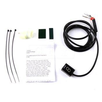 Motorcycle LCD Electronics 6 Speed 1-6 Level Gear Indicator Digital Gear Meter For Honda CB650F CBR600F CBR650F CB650 F CBR 600F