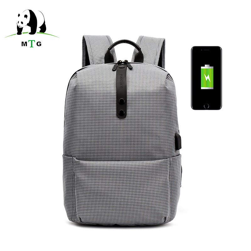 15.6 Men Laptop Backpack Women Anti Theft Backpack With Usb Charging School Notebook Bag Oxford Waterproof Travel Backpack Male