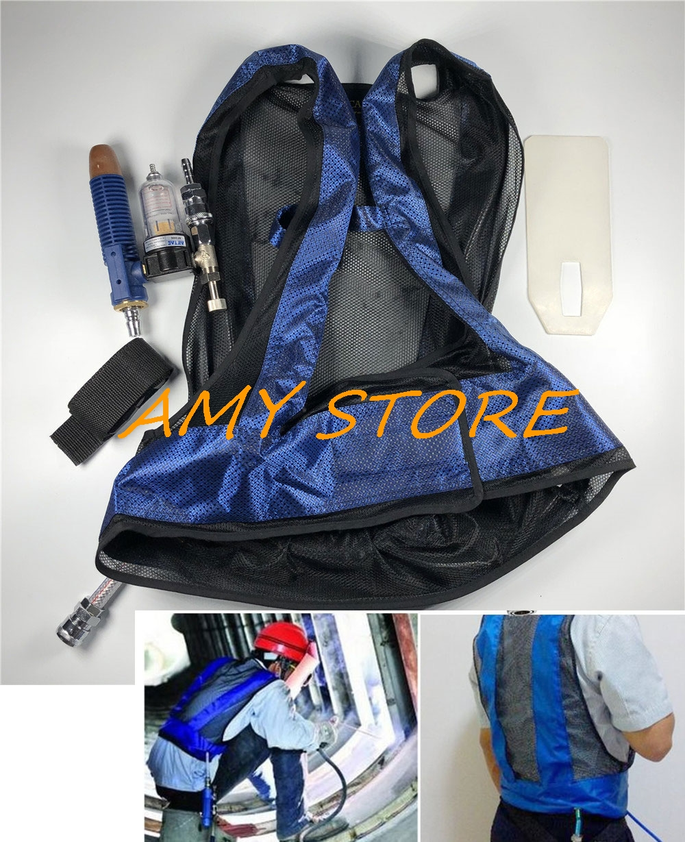 Forging Worker Air Conditioning Cooling Vest Vortex Tube Tool Air Compressed