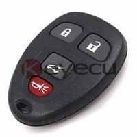 3PCS/LOT New Keyless Entry 4 Button Remote Car Key Fob for Select Chevrolet Pontiac Buick KOBGT04A