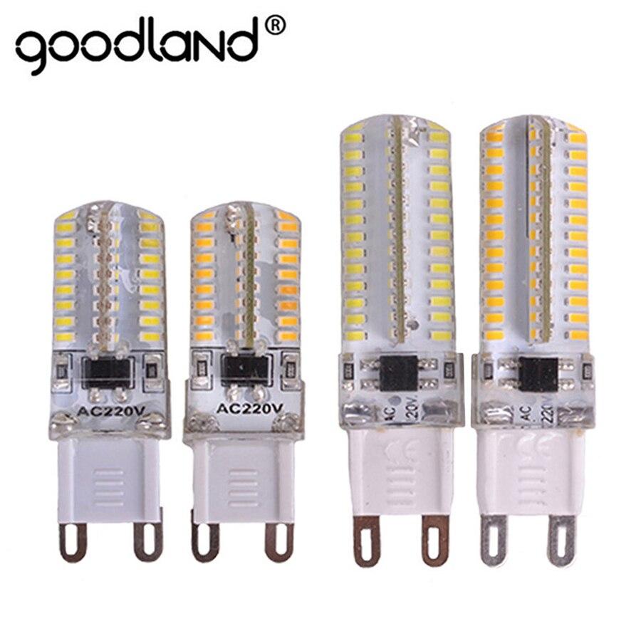 G9 LED Bulb 6W 9W LED G9 Lamp 220V LED Light SMD3014 Silicone Cover LED G9 Corn Bulb For Chandelier Light Home DecorationsG9 LED Bulb 6W 9W LED G9 Lamp 220V LED Light SMD3014 Silicone Cover LED G9 Corn Bulb For Chandelier Light Home Decorations