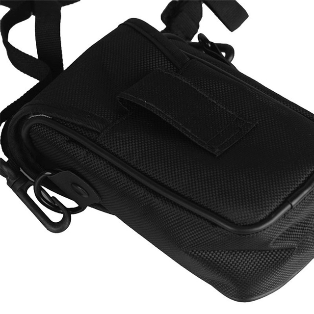 3 Size Camera Bag Case Compact Camera Case Universal Soft Bag Pouch + Strap Black For Digital Cameras 10