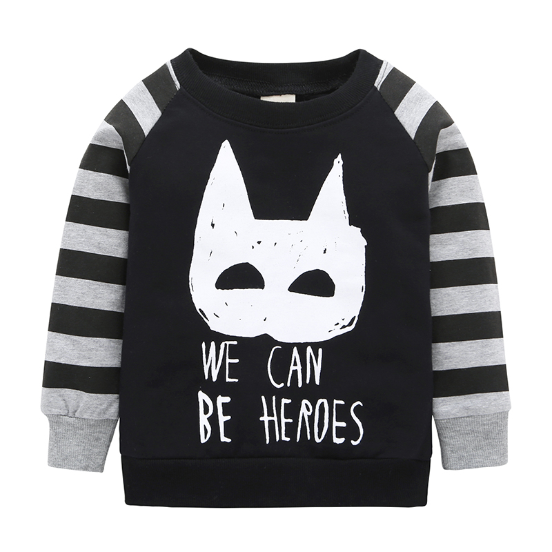 2017 Limited Fashion Cotton Baby New Arrival Batman Hoodies &sweatshirts Spring And Autumn Style Boys/girls Full Sleeve Tops