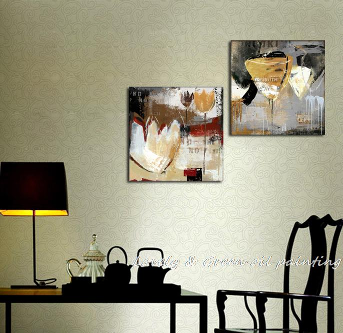 free shipping wall art high quality abstract paintings still life
