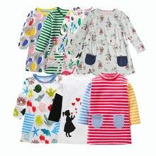 hot deal buy 2018 autumn newest design girls flower frocks children clothes girl dresses children baby dresses long sleeve baby clothes dress