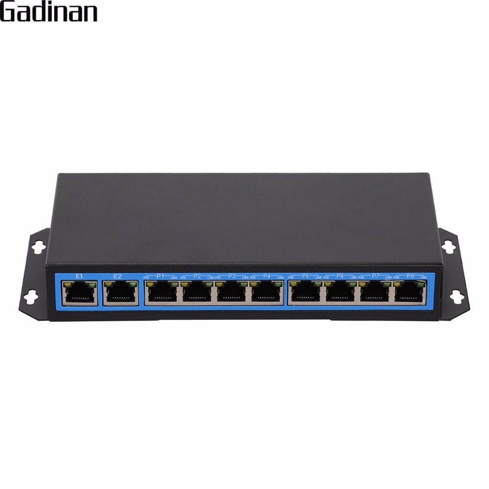 8 port PoE switch 802.3af IEEE Fast Ethernet Switch 10/100M 120W For POE IP Camera Network camera