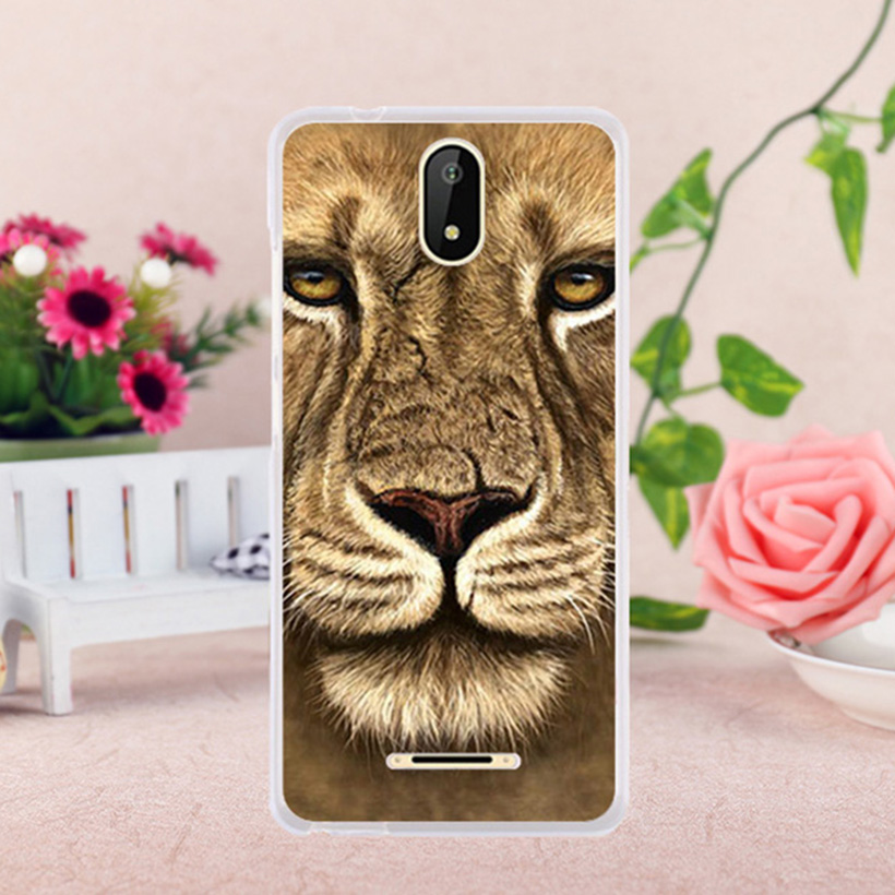 TAOYUNXI Case For Micromax Bolt Supreme 6 Q409 Micromax Q409 Spark Cases  Silicone Soft TPU Covers Printing Animals Tigers-in Fitted Cases from  Cellphones ... a018f424cfee