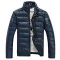 Casual Stand Collar Cotton-padded Winter Jacket Waterproof Warm Winter Coat Men