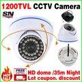 11.11 Venta Grande! 1/3 cmos 1200TVL Cámara Analógica CCTV de Vigilancia de Seguridad de INTERIOR de la Bóveda HD 36LED IR-CUT de La Visión Nocturna 30 m AHDL vídeo
