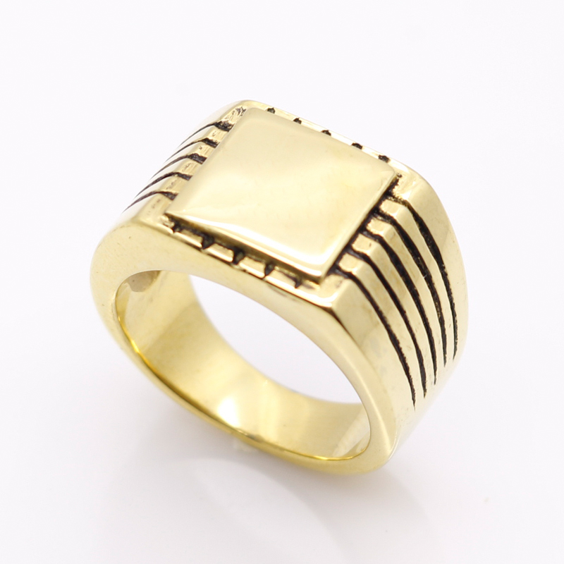Fine Jewelry Men's High Polished Signet s