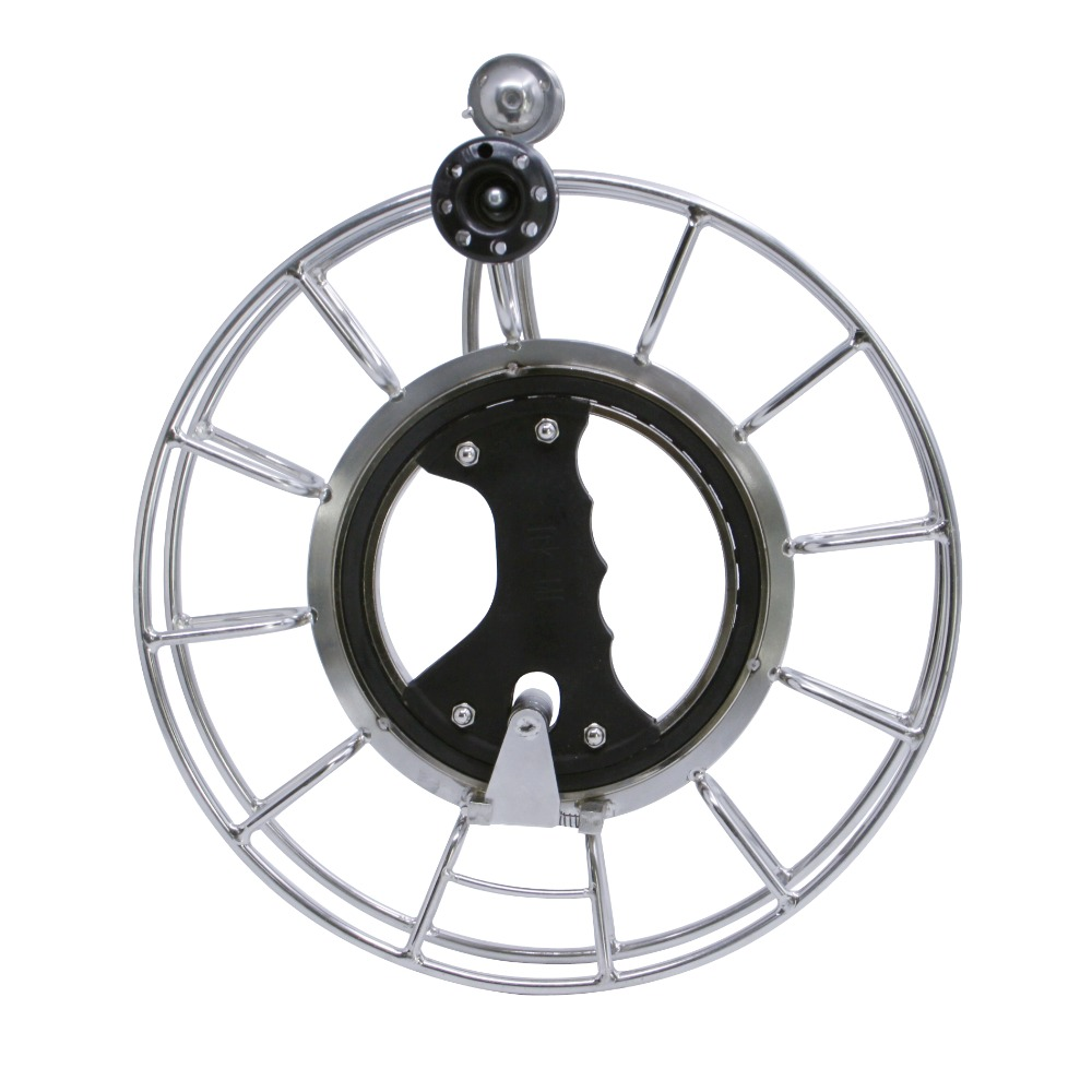Improved 9.5 / 24CM Kite String Reel Silent Ball Bearing Stainless Steel Kite Reel Line Winder For Parafoil Kite