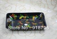 Free Shipping Glass Handcraft Bathroom Sink Rectangle Wash Basins JN 4147