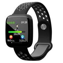F15 Sport Smart Watch IP67 Waterproof Blood Pressure Oxygen Heart Rate Monitor Smartwatch Men For Android IOS Phone(China)